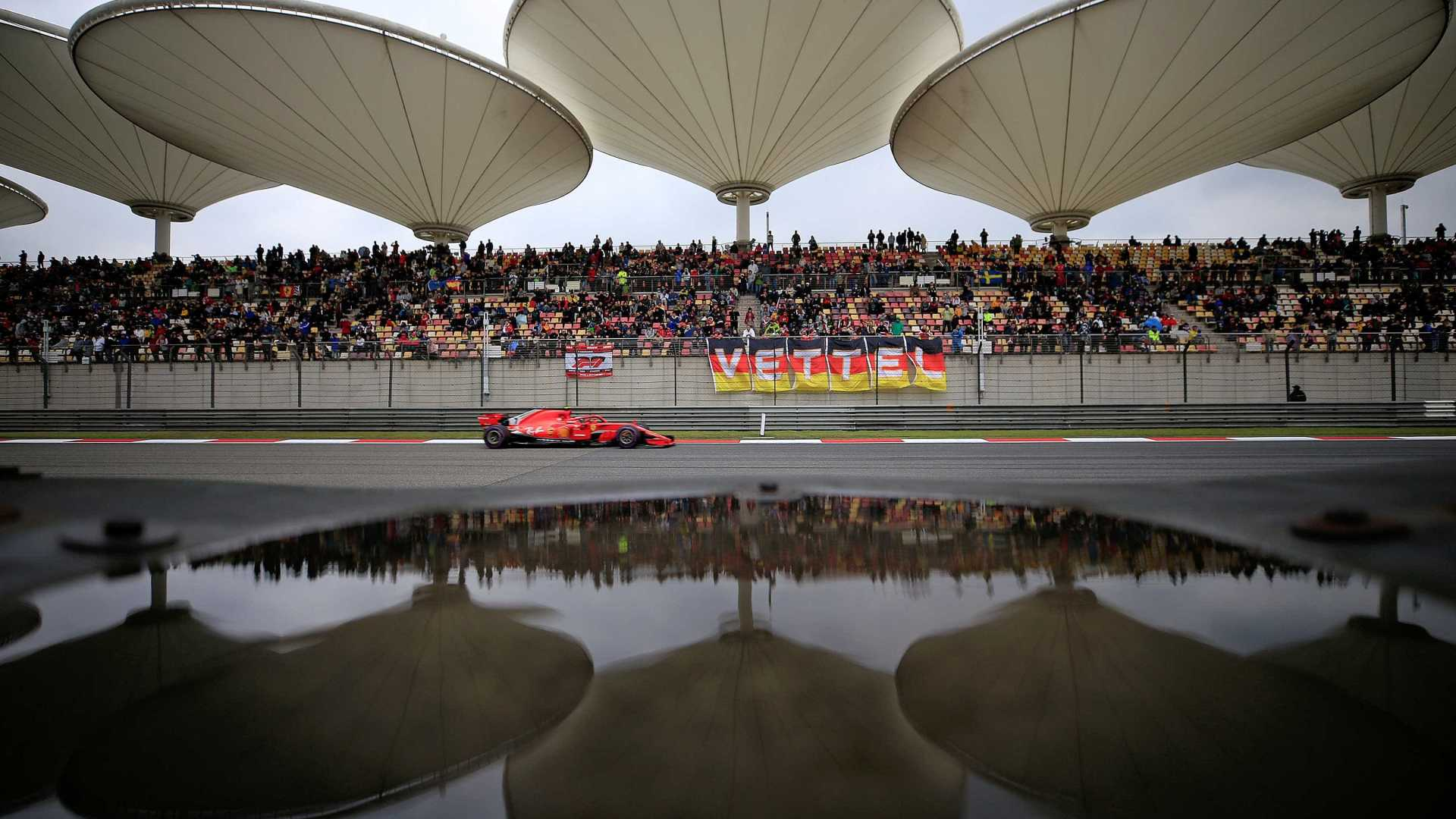 Sebastian Vettel garante a pole no GP da China