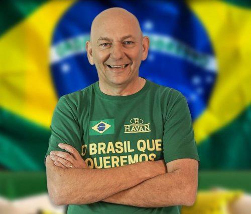 Luciano Hang, dono da HAVAN, sofreu atentado hoje, em Santa Catarina